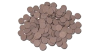 Припои марки П 100 виде таблеток толщиной 1,6-2 мм, диаметром 5 мм.